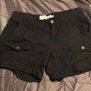 Sonoma black Linen shorts